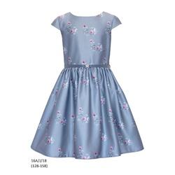 Sukienka dziewczęca 16A/J/18 okolicznościowa,wizytowa,weselna, świąteczna,SLY