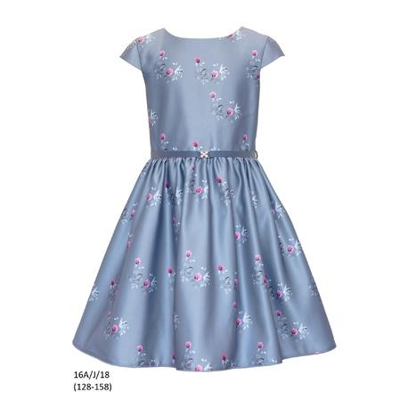 Sukienka dziewczęca 16A/J/18 okolicznościowa,wizytowa,weselna, świąteczna,SLY,