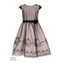 Sukienka dziewczęca 20/J/18 okolicznościowa,wizytowa,weselna, SLY