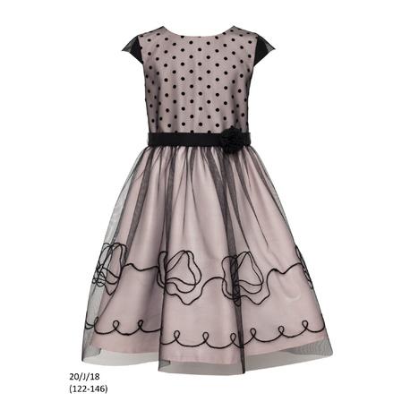 Sukienka dziewczęca 20/J/18 okolicznościowa,wizytowa,weselna, świąteczna,SLY,tiulowa,sklep