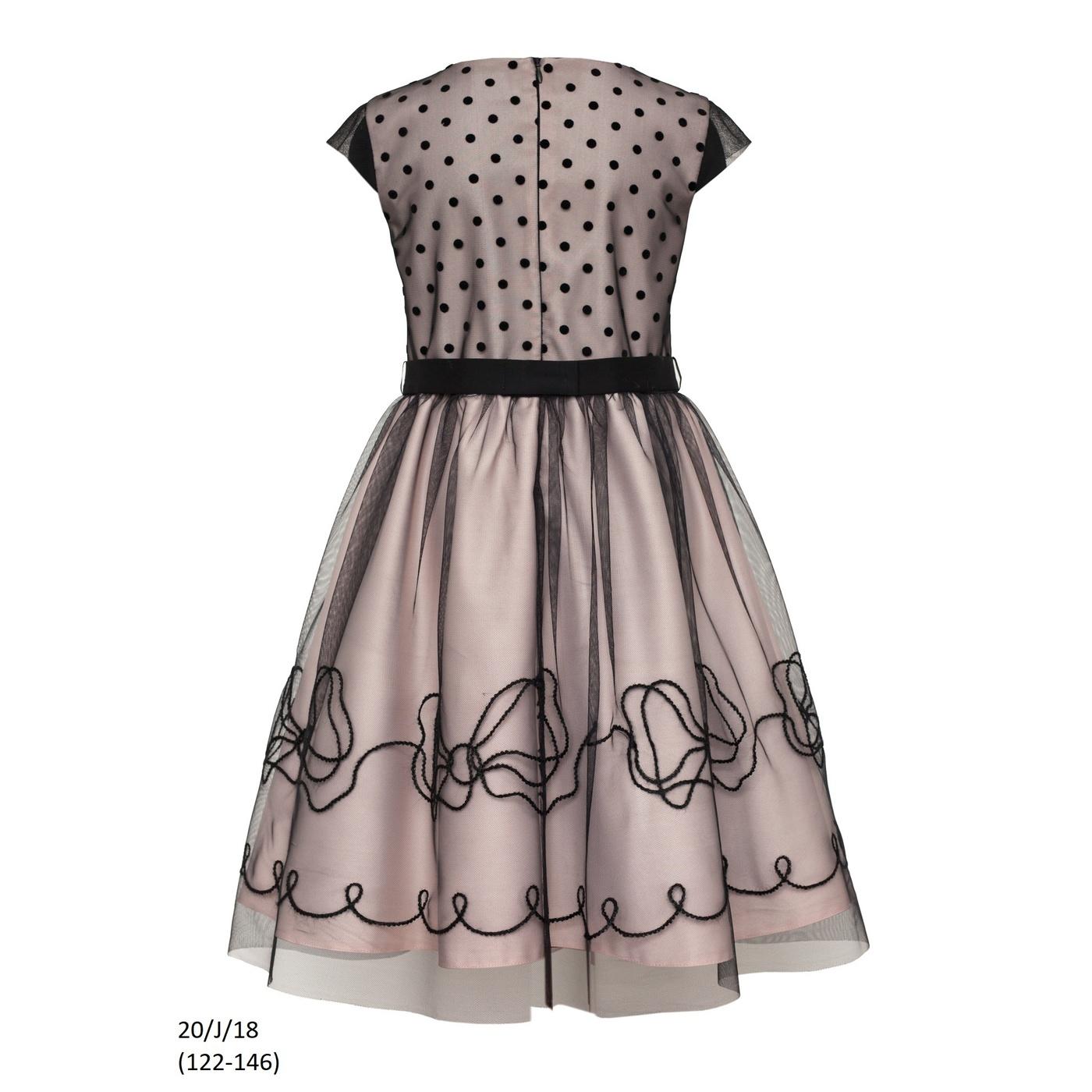 978cde9e7a3359 ... Sukienka dziewczęca 20/J/18 okolicznościowa,wizytowa,weselna,  świąteczna,SLY