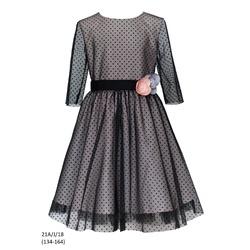 Sukienka dziewczęca 21A/J/18, wizytowa, weselna, świąteczna, SLY