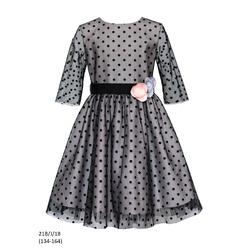 Sukienka dziewczęca 21B/J/18 okolicznościowa,wizytowa,weselna, świąteczna, SLY