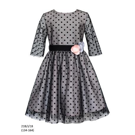 Sukienka dziewczęca 21B/J/18 okolicznościowa,wizytowa,weselna, świąteczna, SLY,sklep