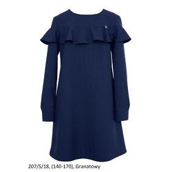 Sukienka dziewczęca 207/S/18 szkolna, wizytowa