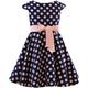 Sukienka dla dziewczynki, wizytowa,okolicznościowa,elegancka, w kropki,sklep