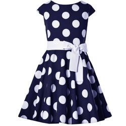 Sukienka dla dziewczynki, wizytowa,okolicznościowa,elegancka,na akademie,granatowa