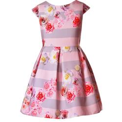 Sukienka Isla 217 dla dziewczynki, wizytowa, okolicznościowa