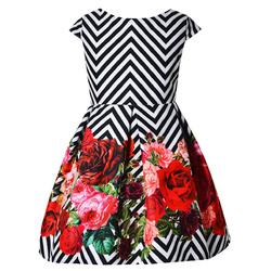 Elegancka sukienka dla dziewczynki Kayla, kwiatowa,kolorowa,134-164,sklep