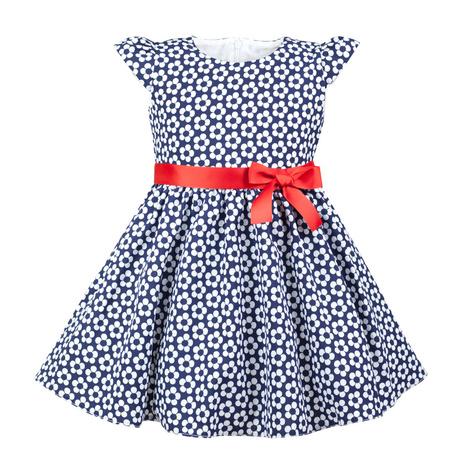 Sukienka dziewczęca wizytowa Kornelia, granatowa z szarfą,na święta,sklep internetowy