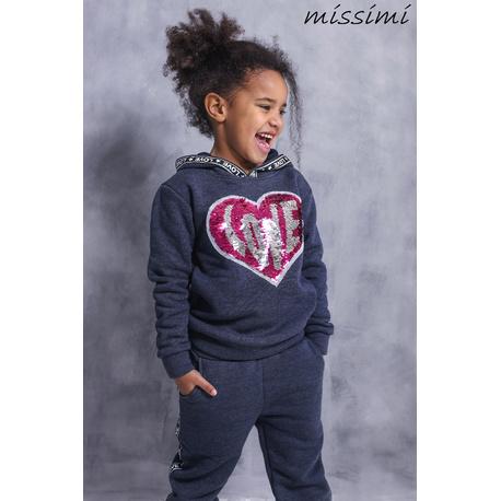 Dres dla dziewczynki jeans,aplikacja z sercem,ubranka dla dzieci,sklep