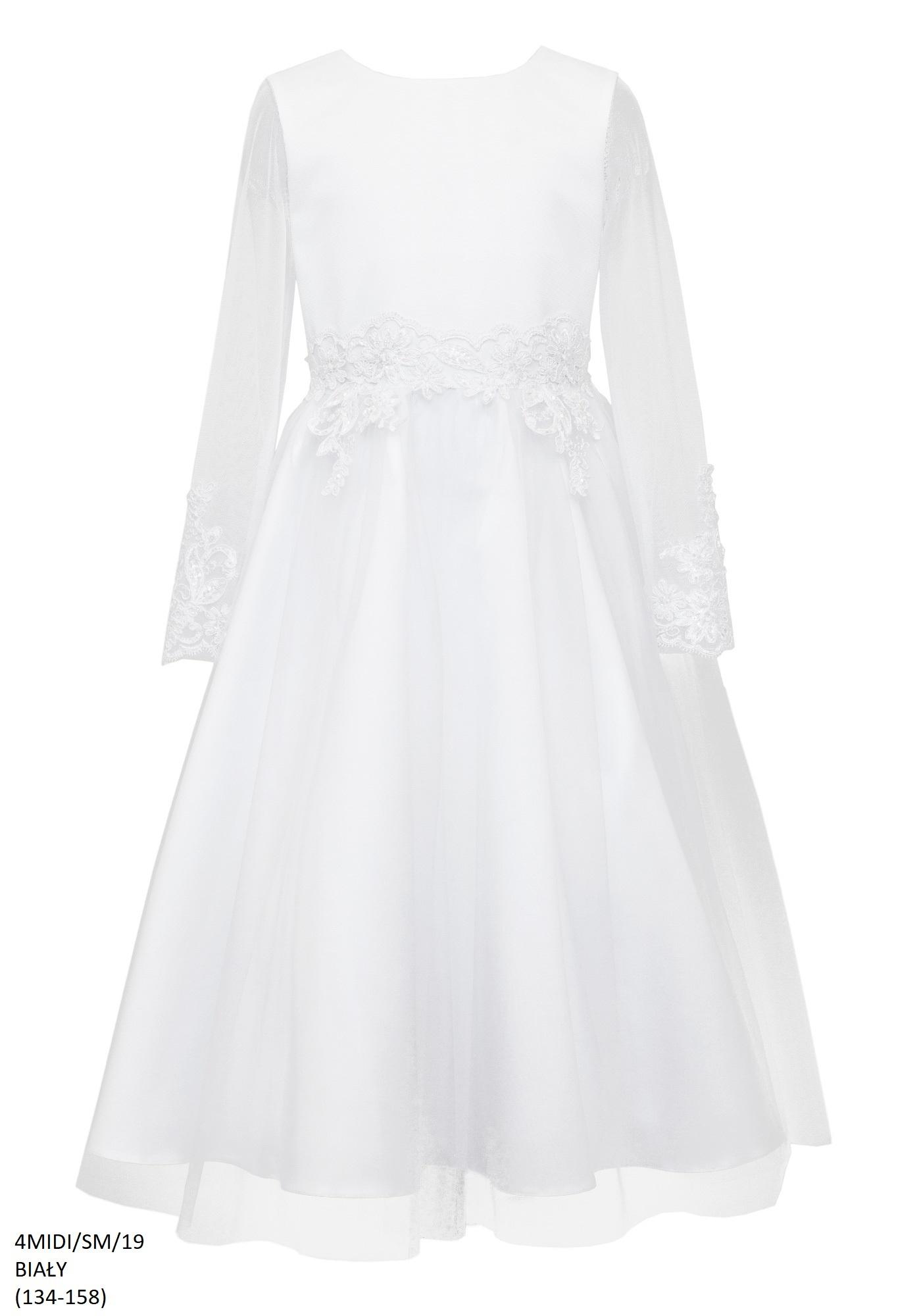 białe sukienki dla dziewczynek,e zygzak.pl, kolekcja 2019