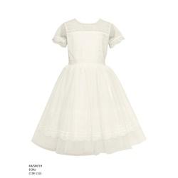 Sukienka dziewczęca elegancka Ecru 6B/SM/19
