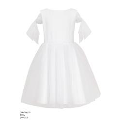 a4f7d9ea46 Wizytowa sukienka dla dziewczynki Ecru.