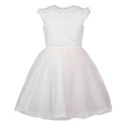 Sukienka z tiulem dla dziewczynki Otylia brzoskwinia