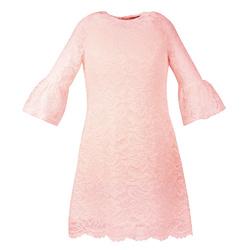 Koronkowa sukienka dla dziewczynki Harriet Brzoskwiniowa