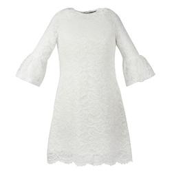 Koronkowa sukienka dla dziewczynki Harriet Ecru