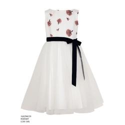 Elegancka sukienka dla dziewczynki Róż 16A/SM/19