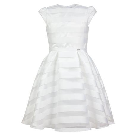 Sukienka komunijna w pasy Suzan rozm. 134-152,sukienki weselne,ubrania dziecięce,sklep