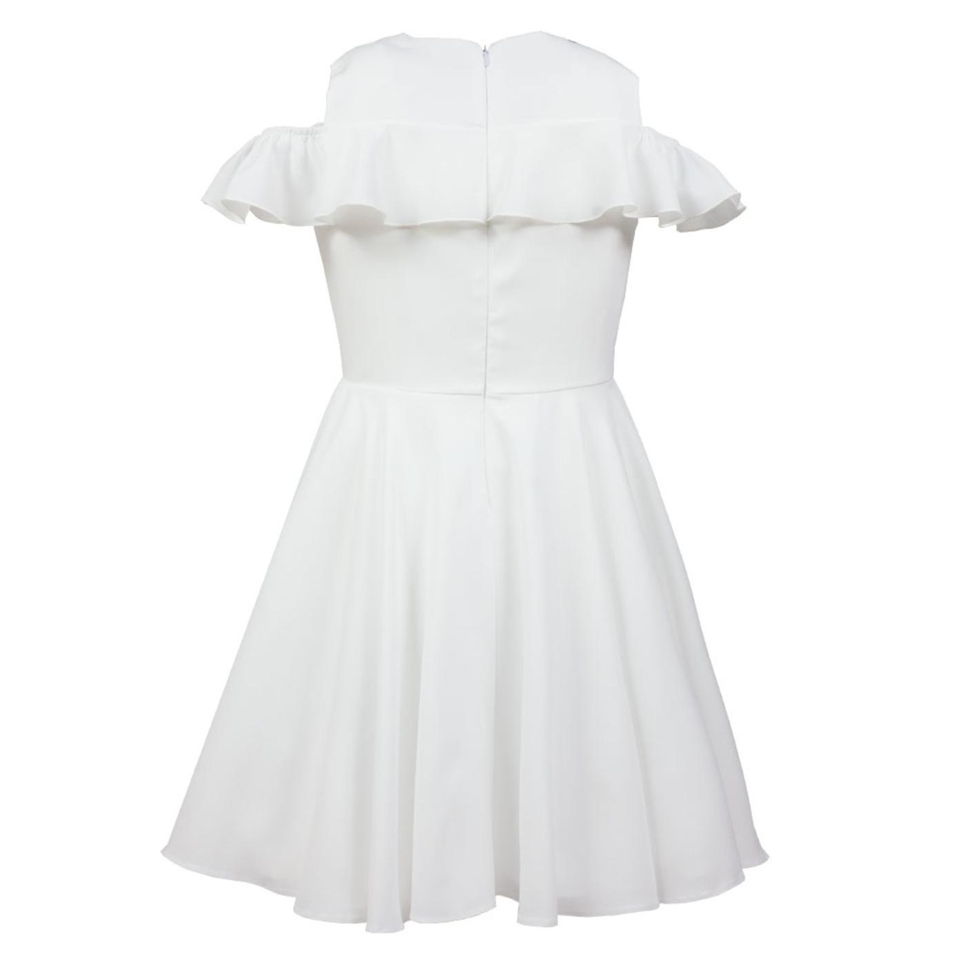 0d42eec179 ... Elegancka sukienka dla dziewczynki Ecru Robin