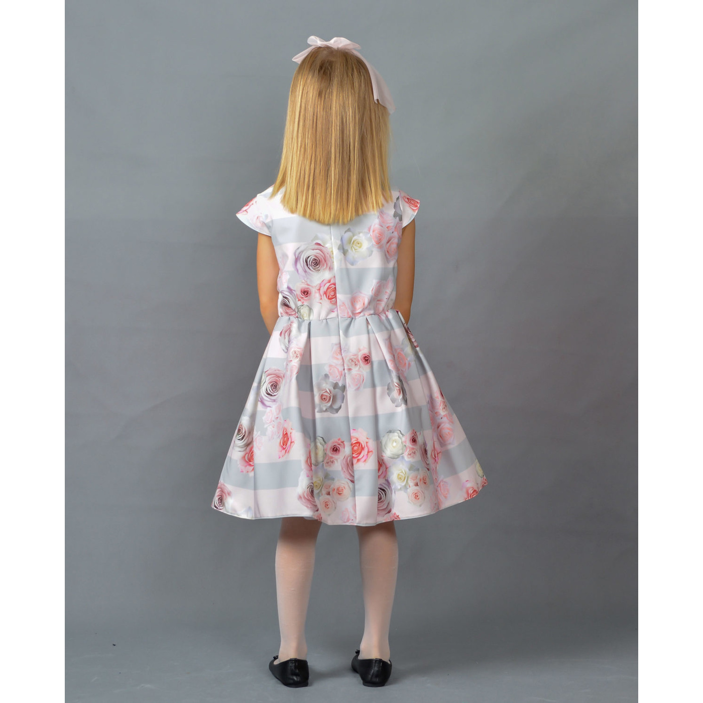 ed2332b11a Wizytowa sukienka dla dziewczynki M 214 Isla - EMMA
