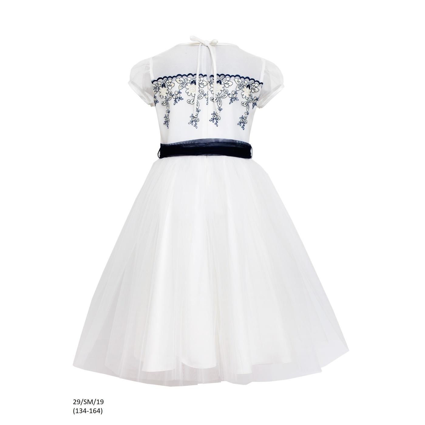 067b03d60e ... Sukienka dziewczęca wizytowa 29 SM 19