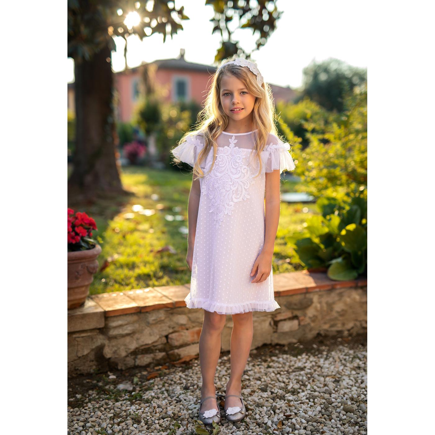f0a2dfbdc8 Sukienka dla dziewczynki na specjalne okazje 32A SM 19