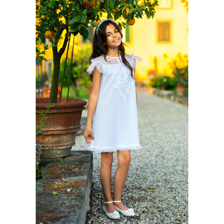 0111b34eec Sukienka dla dziewczynki na specjalne okazje 32B SM 19