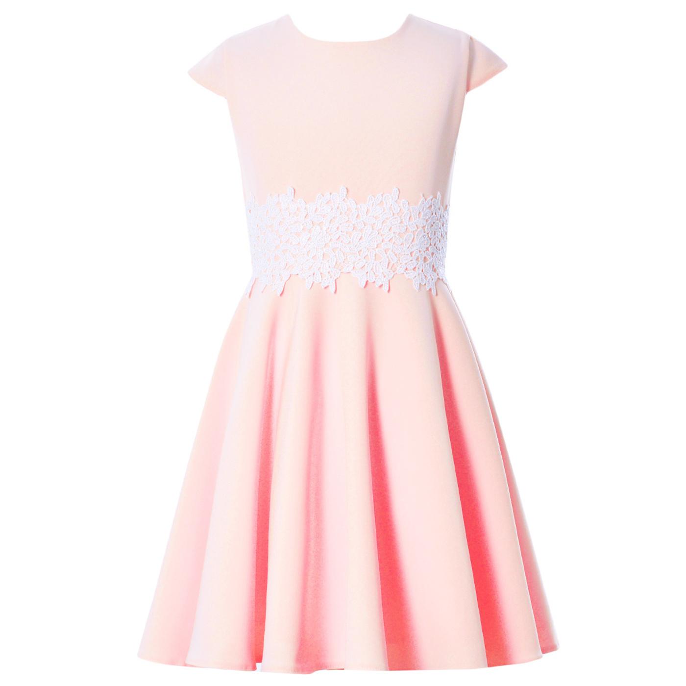 e89e1e02f7 Sukienka pokomunijna z koronką Barbi