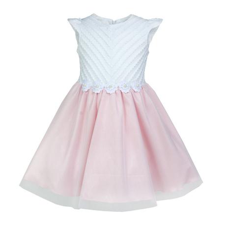 Elegancka sukienka dla dziewczynki Beatka 104-128, na wesela, okazjonalna, z tiulem, sklep z odzieżą dziecięcą
