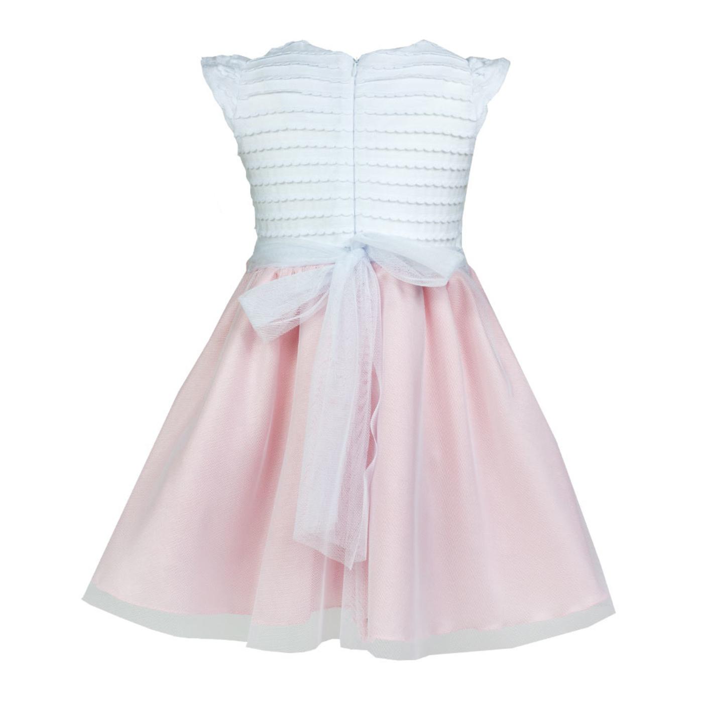 4a27669e55 ... Elegancka sukienka dla dziewczynki Beatka 104-128