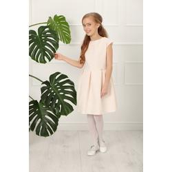 Sukienka pokomunijna Sema 134-164 Pudrowy Róż,dla dziewczynki,wizytowa,okolicznościowa,sklep e-zygzak.pl