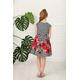 Elegancka sukienka dla dziewczynki Kayla,kwiatowa,kolorowa,134-164,sklep