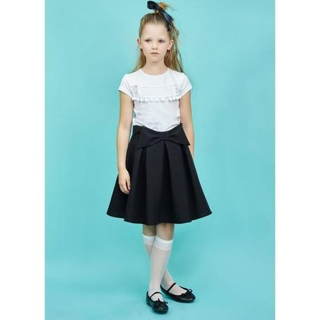 Spódniczka szkolna dla dziewczynki Maja Czarna,elegancka,wizytowa, sklep dla twojego dziecka