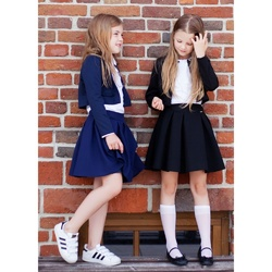 Bolerko dla dziewczynki Nina Granatowe,szkolne, wizytowe,do spódnic,do sukienek,e-zygzak.pl