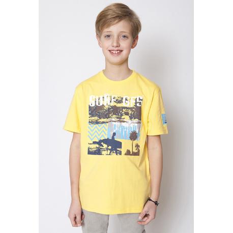 T-shirt chłopięcy żółty GF - 5
