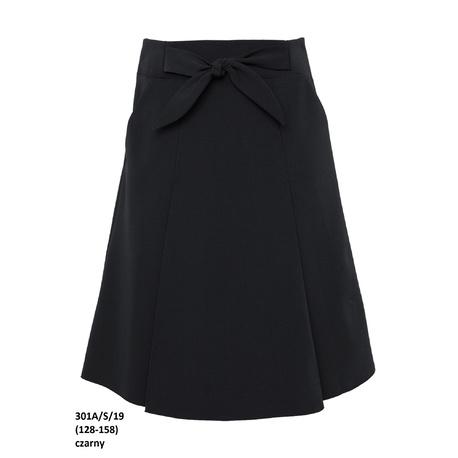 Czarna spódniczka dla dziewczynki 301A/S/19, szkolna,strój galowy dla dziewczynki,sklep