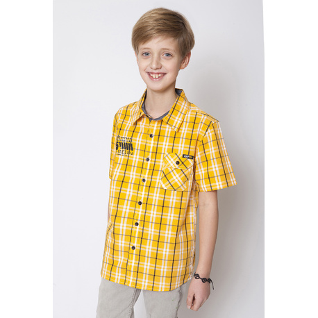 Koszula chłopięca GF-5 żółta