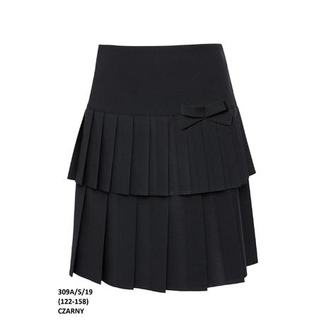Spódniczka dziewczęca wizytowa, szkolna 309A/S/19,plisowana, strój galowy, sklep dziecięcy,e-zygzak.pl