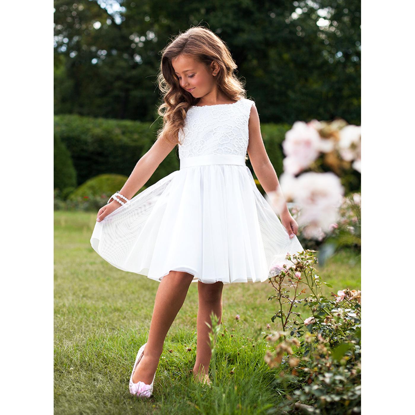 cf28322f Sukienka wizytowa dla dziewczynki - SLY