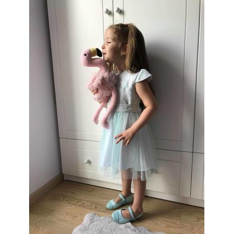 Sukieneczka dla dziewczynki Mia błękit, z tiulem, elegancka, modna, e-zygzak.pl