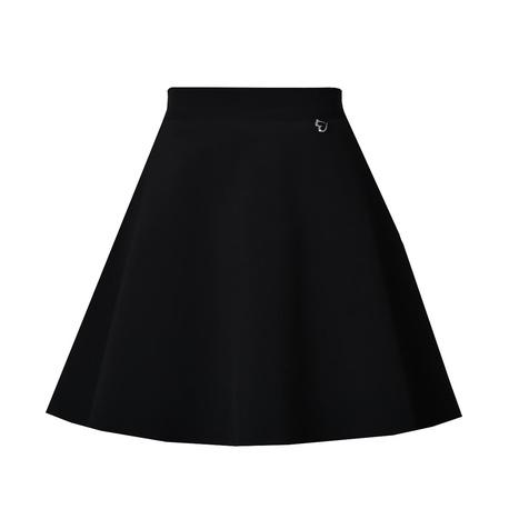 Spódnica szkolna dziewczęca czarna Emma, rozkloszowana, elegancka, sklep e-zygzak.pl