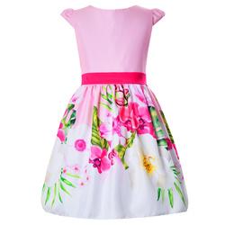 Kolorowa sukienka dla dziewczynki Molly,kwiatowa, elegancka, na wesela, sklep e-zygzak.pl