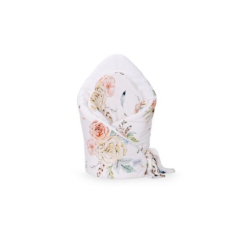 Rożek becik bambusowy VINTAGE Flowers, dla niemowlaka, w kwiaty, sklep e-zygzak.pl