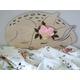 Otulacz bambusowy VINTAGE Flowers 120x120, dla niemowląt, dla dziewczynki,sklep internetowy e-zygzak.pl