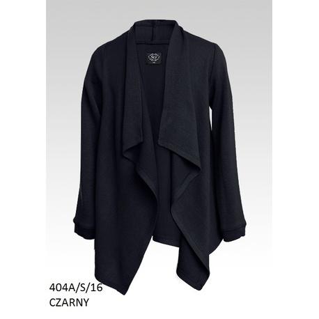 Czarny sweter dziewczęcy 404A/S/16, szkolny, na galowo, świątecznie, e-zygzak.pl