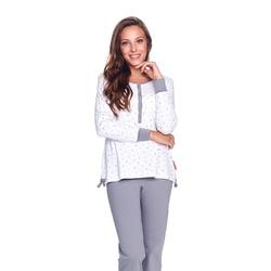 Doctor Nap Damska piżama z nadrukiem w korony