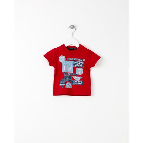 T-shirt czerwony- LOSAN
