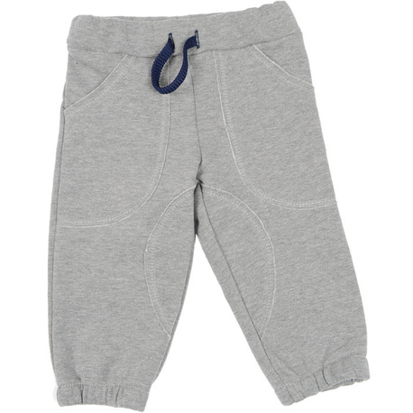 Spodnie dresowe szare dla chłopca