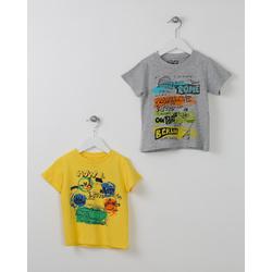 T-shirt żółty- LOSAN